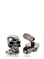 Paul Smith Skull Metal Cufflinks