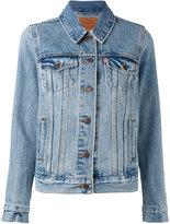 Levi's boyfriend trucker jacket - women - Cotton - S