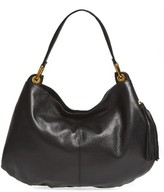 Hobo Axis Leather Bag - Black