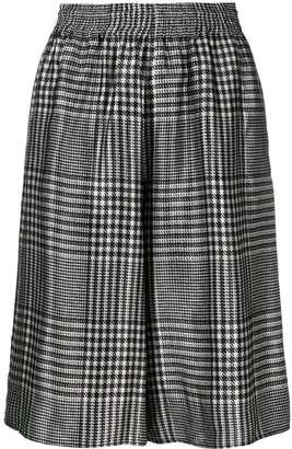 MM6 MAISON MARGIELA Prince of Wales check-pattern shorts