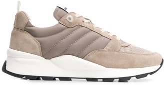 Ami Thick Sole Low-Top Sneakers