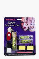 boohoo Halloween Vampire Zipper Face Make Up Kit
