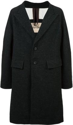 Ziggy Chen Oversized Single-Breasted Coat