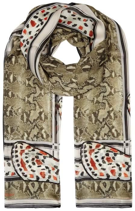 Givenchy Printed Silk Chiffon Scarf