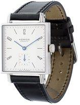 Nomos 'Tetra' analog watch