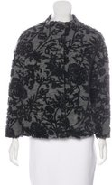 Band Of Outsiders Jacquard Wool-Blend Coat