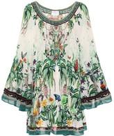 Camilla Floral silk dress