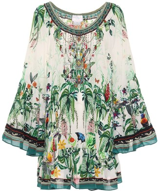 Camilla Floral silk dress