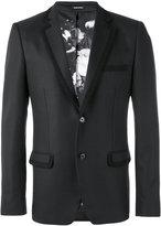 Alexander McQueen embroidered trim blazer