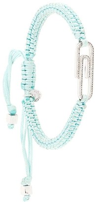 Tateossian Paperclip pave diamond bracelet