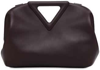 Bottega Veneta Triangle Leather Top Handle