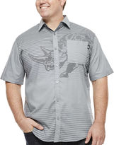 Ecko Unlimited Unltd. Top Flight Short-Sleeve Woven Button-Front Shirt - Big & Tall