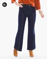 Chico's Cropped Wide-Leg Trouser Jeans