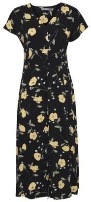 B.young Isole Dress in Black Combi 2 20807856 - 34 | viscose | black - Black/Black