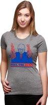 Crazy Dog T-shirts Crazy Dog Tshirts Womens Feel The Bern Bernie Sanders Flames Funny Political T shirt -XXL