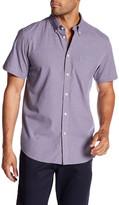 Ben Sherman Checked Short Sleeve Regular Fit Shirt