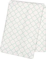 TREND LAB, LLC Trend Lab Mint Quarterfoil Swaddle Blanket
