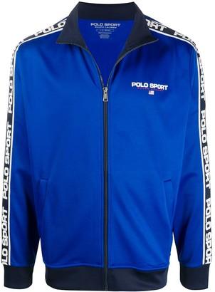 Polo Ralph Lauren Sport Logo-Stripe Track Jacket