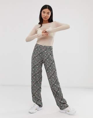 Pepe Jeans Amalia floral print flared trousers