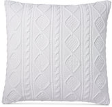 """Ralph Lauren Judson 20"""" Square Cabled Throw Pillow"""