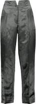 Thom Browne Hollywood satin straight-leg pants