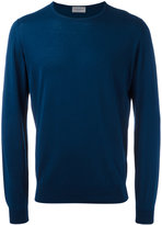 John Smedley knitted sweater - men - Cotton - M