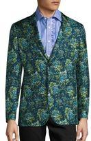 Burberry Floral Print Jacket