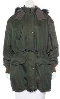Balenciaga Hooded Parka Coat w/ Tags