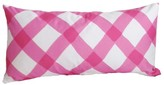 The Well Appointed House Dana Gibson Pink Gingham Lumbar Pillow