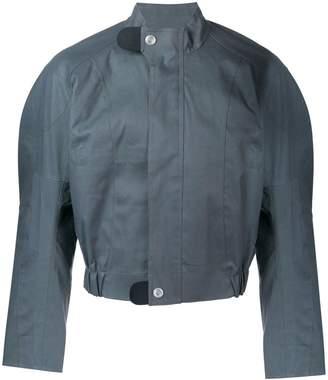 MACKINTOSH 0004 Iron Grey Bonded Cotton 0004 Moto Jacket