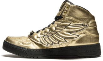 adidas JS Wings 'Metallic Gold' Shoes - Size 9.5