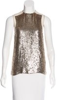 Stella McCartney Sequin Sleeveless Top