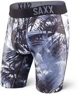 "Saxx Fuse Long Leg 9"" Underwear (, Night Vision Palm)"