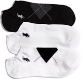 Polo Ralph Lauren Women's Argyle Cotton 3 Pack Socks