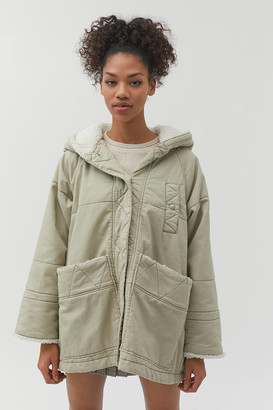 Urban Outfitters Fiona Sherpa Lined Jacket