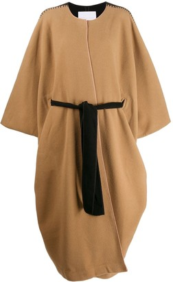 Noon By Noor Syracuse oversized cape coat