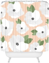 Deny Designs Allyson Johnson Romantic Floral Shower Curtain