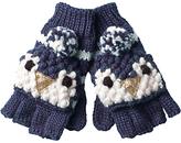 Fat Face Children's Penguin Gloves, Navy