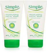 Simple Moisturizing 2-Ct. Facial Wash Set