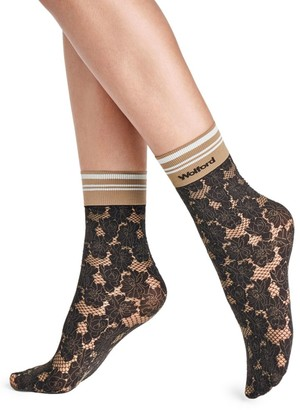 Wolford Dakota Lace Socks