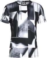Björn Borg Palmer Print Tshirt Black Beauty