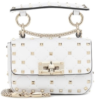 Valentino Rockstud Spike Micro leather crossbody bag