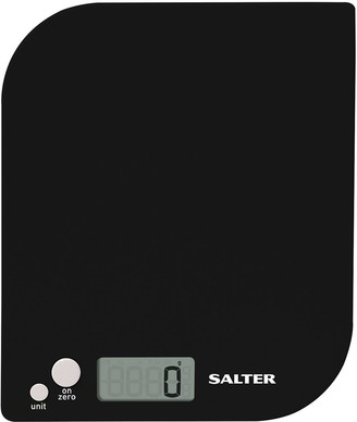 Salter Leaf Electronic Kitchen Scale Black