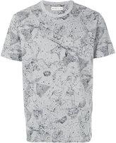 Etro cosmos print T-shirt - men - Cotton - M