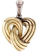 Lagos Two Tone Heart Pendant
