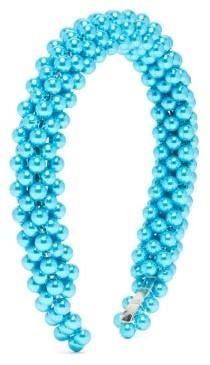 Shrimps Antonia Faux-pearl Headband - Blue