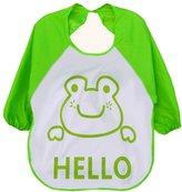 Doinshop 1PC Kids Child Cartoon Apron Translucent Plastic Soft Baby Waterproof Bibs