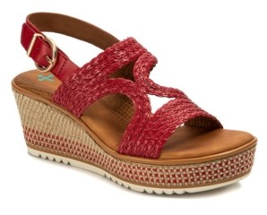 Bare Traps Baretraps Elsa Posture Plus+ Platform Wedge Sandals Women's Shoes