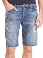 Mens Cut Off Cotton Shorts - ShopStyle