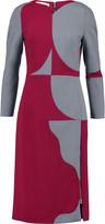 Antonio Berardi Two-tone twill dress